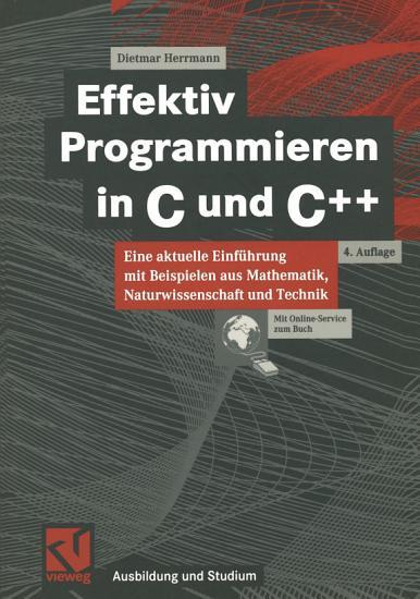 Effektiv Programmieren in C und C   PDF