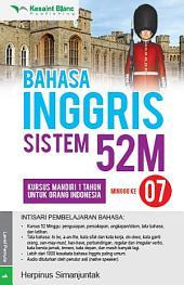 BAHASA INGGRIS SISTEM 52M Minggu ke-7