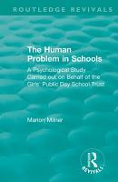 The Human Problem in Schools  1938  PDF