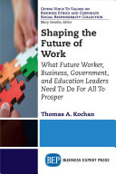 Shaping the Future of Work PDF