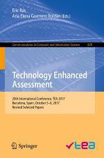 Technology Enhanced Assessment