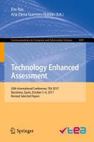 Technology Enhanced Assessment PDF