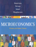 Microeconomics  Public and Private Choice