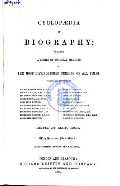 Download The Comprehensive Dictionary of Biography Book