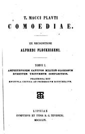 T. Macci Plavti Comoediae: Volumes 1-2