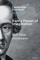 Kant s Power of Imagination PDF