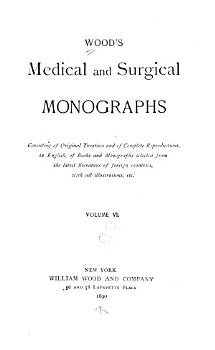Wood s Medical and Surgical Monographs PDF