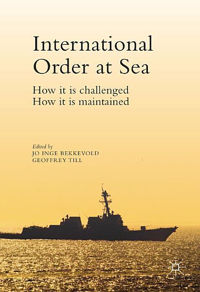 Download International Order at Sea Book