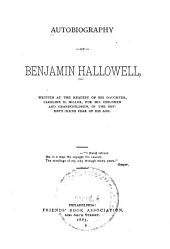 Autobiography of Benjamin Hallowell