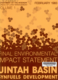 Final Environmental Impact Statement on the Uintah Basin Synfuels Development PDF