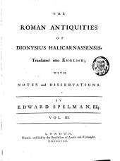 The Roman Antiquities: Volume 3