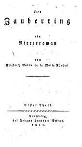 Der Zauberring: ein Ritterroman, Band 1
