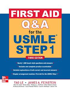 First Aid Q A for the USMLE Step 1  Third Edition Book