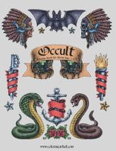 Occult Coloring Book for Grown-Ups 1 & 2