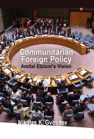 Communitarian Foreign Policy PDF