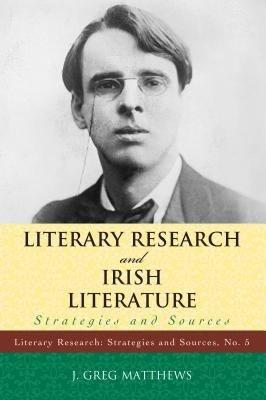 Literary Research and Irish Literature PDF