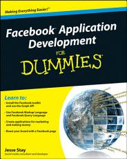 Facebook Application Development For Dummies PDF