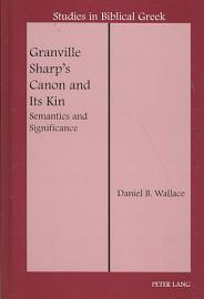 Granville Sharp S Canon And Its Kin