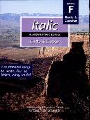 Italic Handwriting Series Book F
