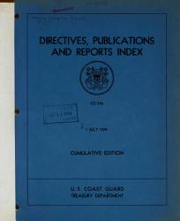 Directives  Publications and Reports Index PDF
