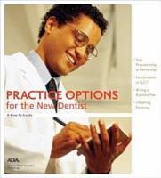 Practice Options for the New Dentist PDF