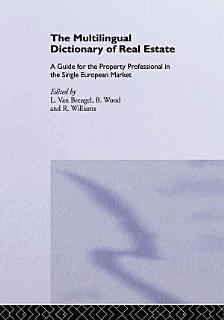 The Multilingual Dictionary of Real Estate Book
