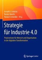 Strategie f  r Industrie 4 0 PDF