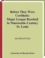 Before They Were Cardinals PDF