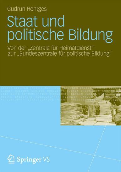 Staat und politische Bildung PDF