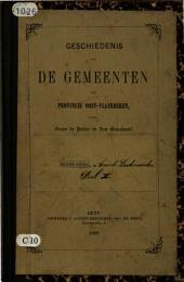 Geschiedenis van de gemeenten der provincie Oost-Vlaanderen: Arrondissement Dendermonde. Reeks 4, Volume 2