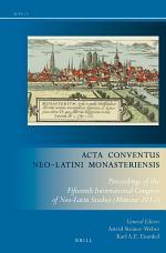 Acta Conventus Neo-Latini Monasteriensis