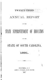 Annual Report of the State Superintendent of Education ...