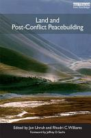 Land and Post Conflict Peacebuilding PDF