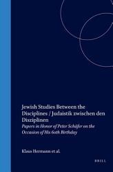 Jewish Studies Between The Disciplines Book PDF