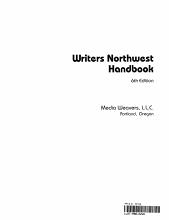 Writers Northwest Handbook PDF