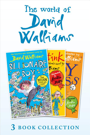 The World of David Walliams 3 Book Collection  The Boy in the Dress  Mr Stink  Billionaire Boy