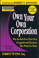 Own Your Own Corporation PDF