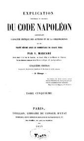 Des privilèges et hypothèques ; Des petits contrats et de la contrainte par corps: Volume5