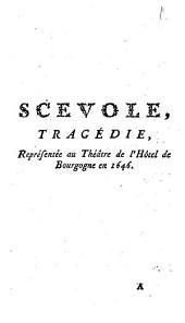 Scevole,: tragédie