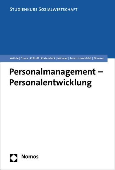 Personalmanagement   Personalentwicklung PDF