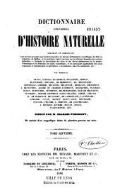 Dictionnaire universel d'histoire naturelle: Volume7
