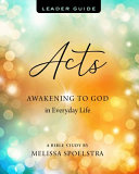 Acts   Women s Bible Study Leader Guide PDF