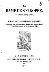 La dame de St.-Tropez: drame en cinq actes
