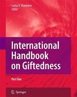 International Handbook on Giftedness PDF