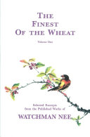 The Finest of the Wheat, vol 1