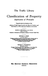 Classification of Property, Application of Principles