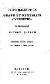 Ovidii Halievtica