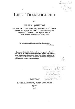 Life Transfigured PDF