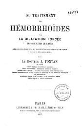 Du traitement des hémorrhoïdes par la dilatation forcée des sphincters de l'anus