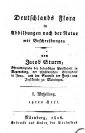 Deutschlands Flora: in Abbildungen nach der Natur mit Beschreibungen. ¬Abt. ¬I., Phanerogamen ; H. 19, Band 1,Ausgabe 19